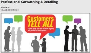 J.R. Atkins quoted in Professional Carwashing & Detail Magazine