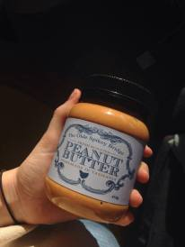 the olde spikey bridge peanut butter