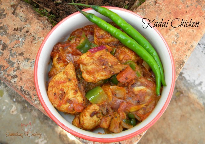 Kadai Chicken - Recipe - Images