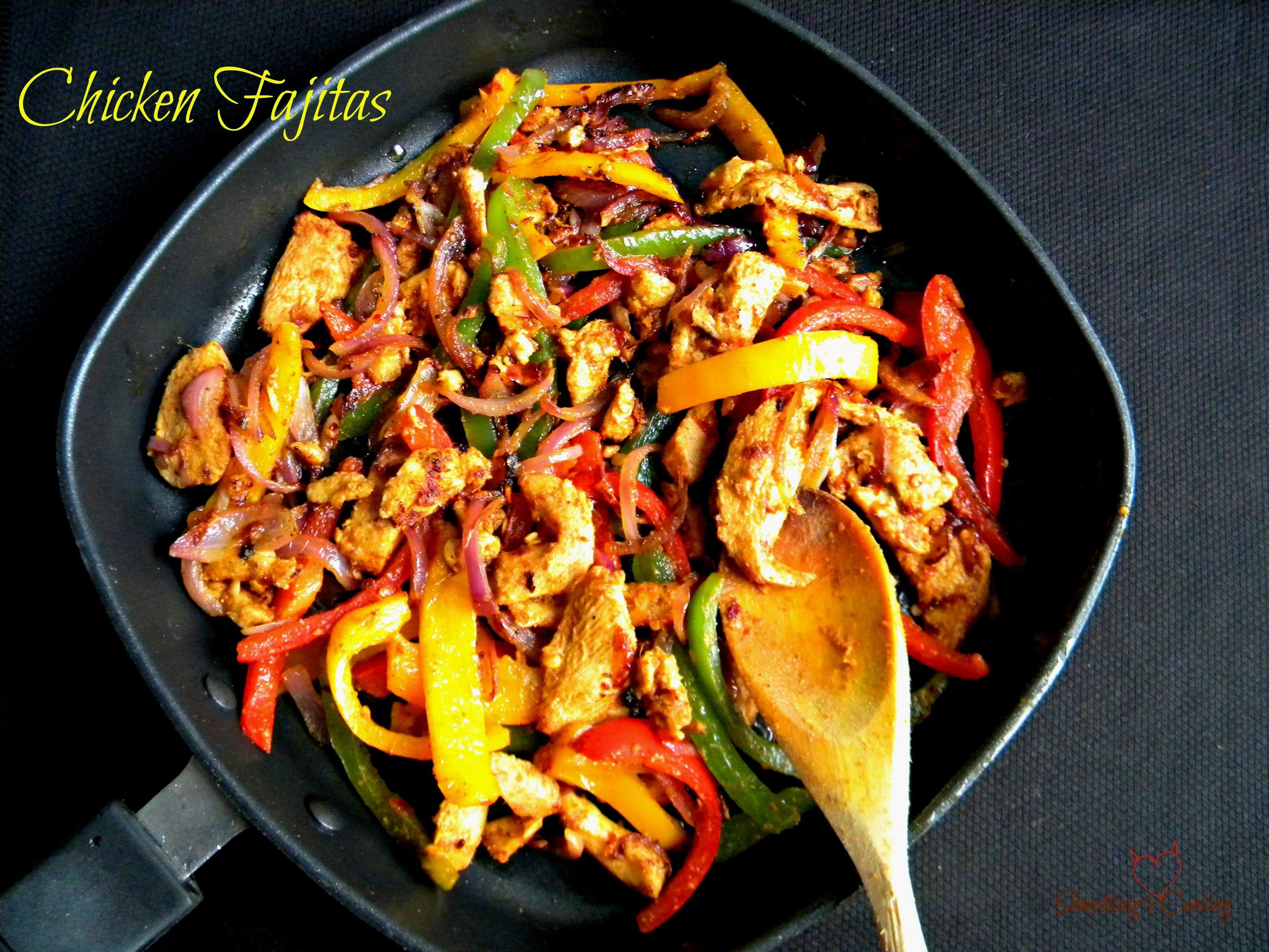 Chicken Fajitas1