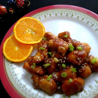 Orange Chicken #AtoZChallenge