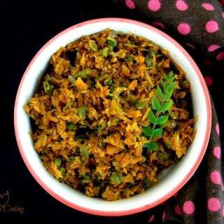 Mixed Vegetable Thoran- Recipe- Kerala Style