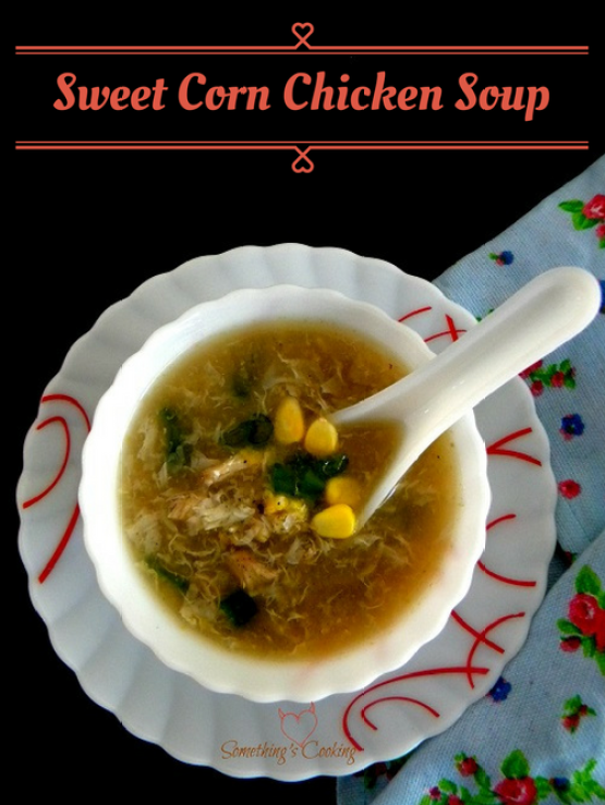 Sweet Corn Chicken Soup-Chinese-Recipe-Indo Chinese