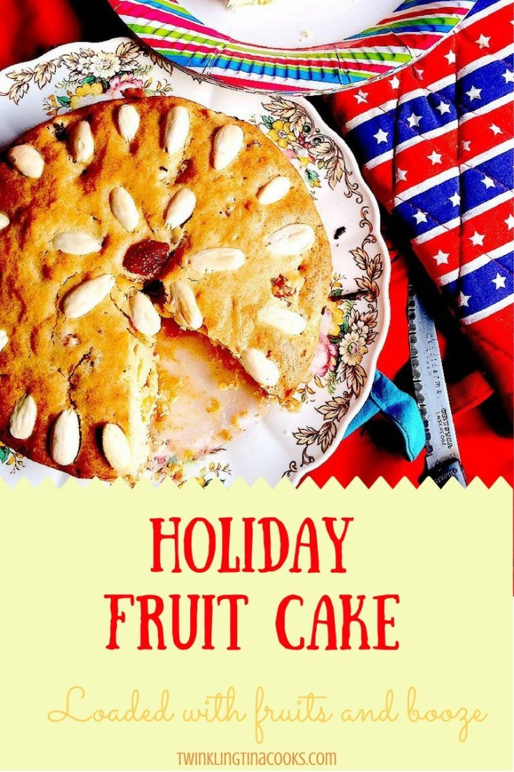 Holiday Fruit Cake - Christmas Cake Recipe - Christmas Cake Image