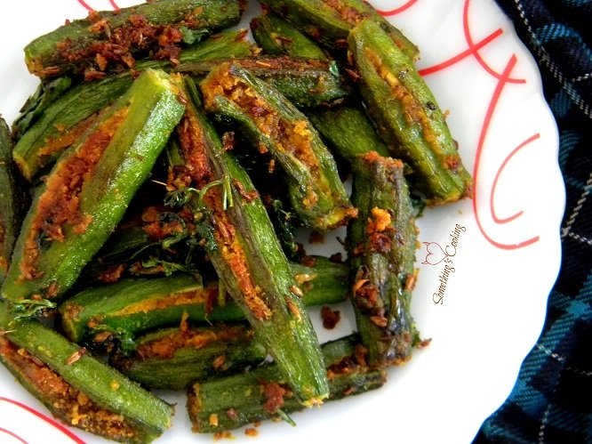 Bharwa Bhindi Recipe - Stuffed Okra Fry