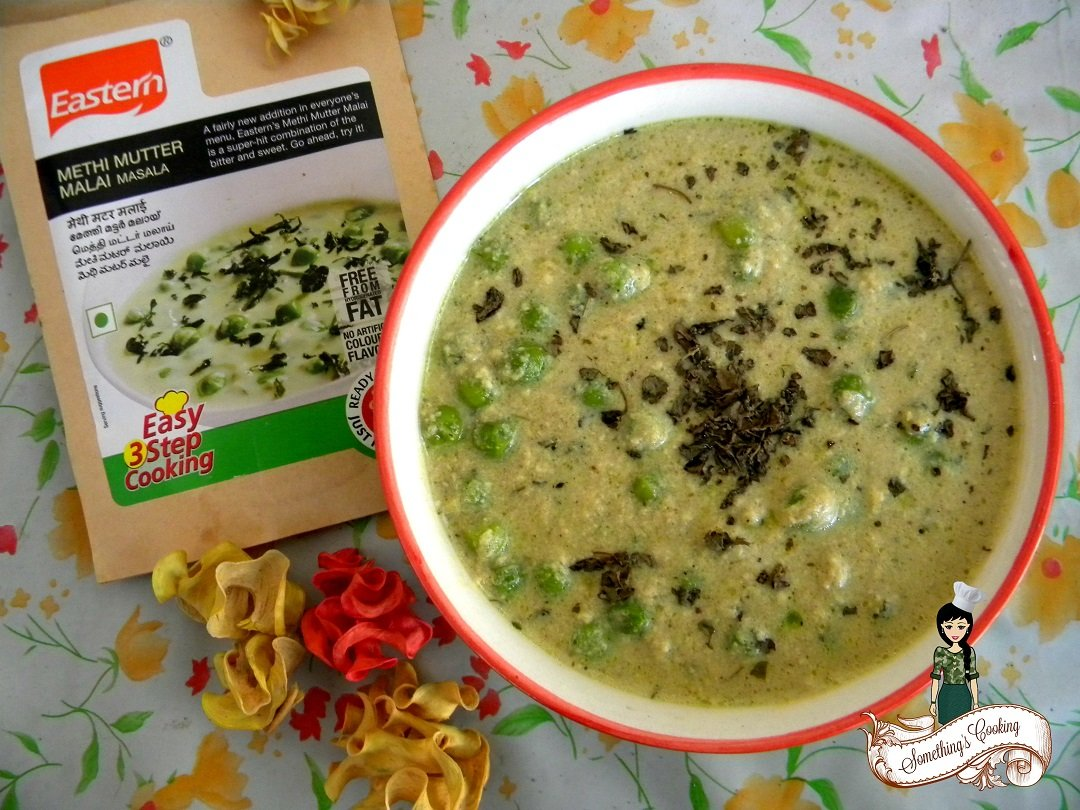 Eastern Methi Matar Malai - Easter 3 Step Cooking - Recipe Review