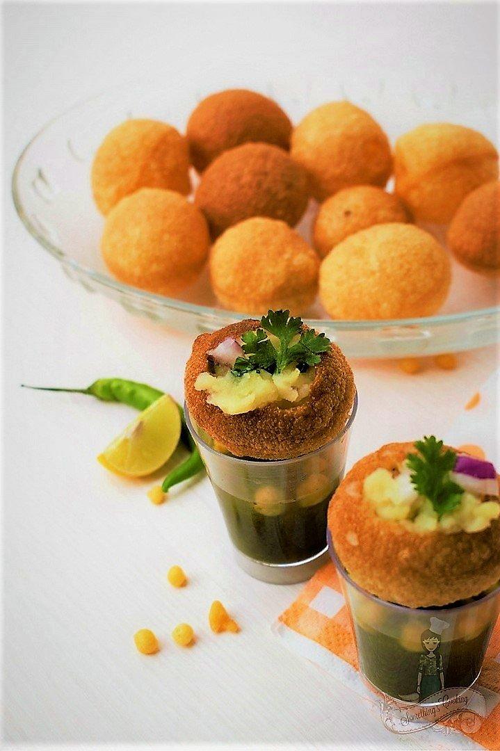 Pani Puri - Golgappe - Puchka Recipe
