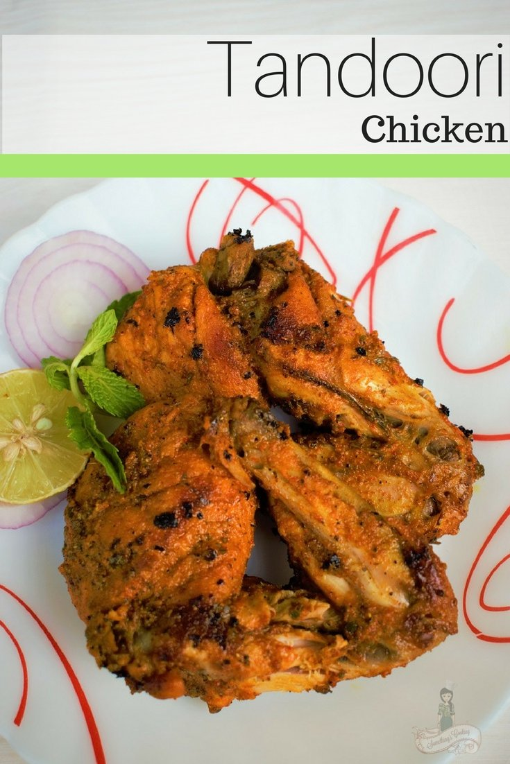 Tandoori Chicken - How to make Tandoori Chicken at home - Tandoori Chicken Recipe - Tandoori Chicken Pinterest