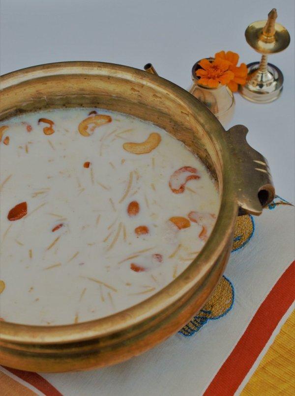 Semiya chowari payasam - Semiya Payasam without condensed milk -  Semiya Payasam Vermicelli Dessert