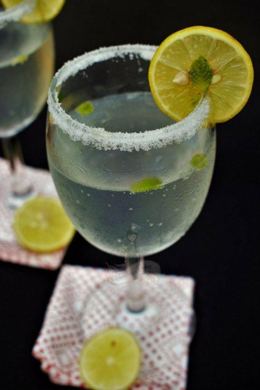 Fresh Lime Soda Recipe somethingiscooking.com