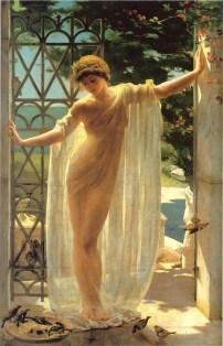 Catullus' Mistress: Lesbia by John Reinhard Weguelin