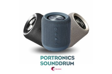 Best Bluetooth speaker Portronics Sounddrum