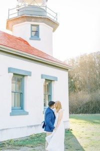 Golden Light Engagement Session-Point Robinson Park-Vashon Island-Something Minted Photography