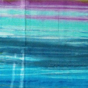 Quilting Patchwork Sewing Fabric BATIK BLUE GREEN PURPLE Cotton 50x110cm Half Meter NEW