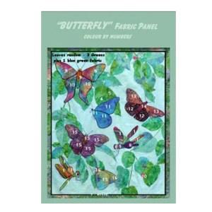 Fat Quarter KIT Batik Quilt x Number BUTTERFLIES Patchwork Quilting Fabric Sewing
