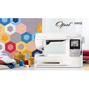 Husqvarna Viking Opal 690Q Quilting Sewing Machine Brand NEW