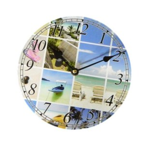 Clock French Country Vintage Inspired Wall Clocks Time BEACH 5 Small 19cm NEW