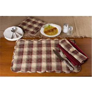 French Country Kitchen Cloth Napkins RIVERTON set of 2 Table Decor New