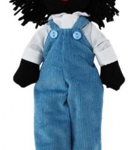 Arthur Golliwog Boy Golly Doll New
