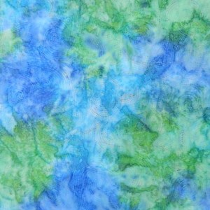 Quilting Patchwork Batik Fabric BLUE GREEN DOT SWIRLS Wide Backing 270x50cm New Queen, King