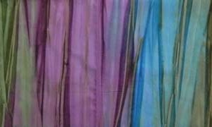 Quilting Patchwork Batik Fabric EARTHY PINKS GREENS Wide Backing 270x50cm New Queen, King