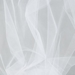 Wedding Dancing Tutu TULLE, WHITE Very Soft & Fine Polyester Tuile 1m x 150cm New