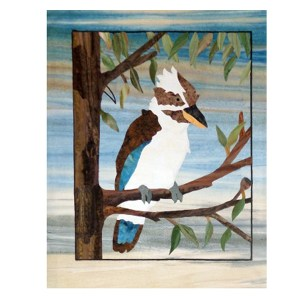 Quilting Patchwork Applique Batik Quilt by Numbers KOOKABURRA Fabric Kit New