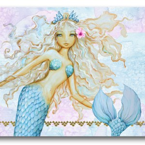 Country Kitchen Cork Backed Placemats AND Coasters MERMAID Set 6 NEW