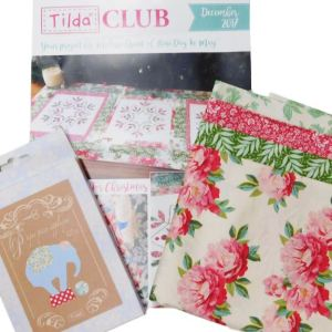 Tilda Club DECEMBER 2017 Quilting Sewing Fabric Single Issue Patchwork Craft Pattern Kit NEW