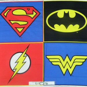 Patchwork Quilting Sewing Fabric MARVEL SUPER HEROES Panel 60x55cm Cotton New