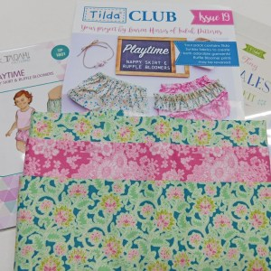 Tilda Club APRIL 2018 Quilting Sewing Fabric Issue Craft Pattern Kit NEW