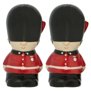 French Country Collectable Novelty London Palace Guards Salt and Pepper Set New