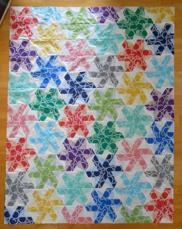 Quilting Patchwork Sewing Template Pinwheel Hexagon Matilda's Own New