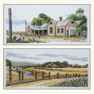 Country Threads Cross Stitch BUSH TELEGRAPH Pattern New X Stitch FJP-1027-38 (CT)