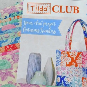 Tilda Club 8/18 Issue 20 Quilting Sewing Fabric Issue Craft Pattern Kit New
