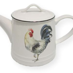 Collectable Novelty Kitchen Teapot Rooster Chicken China Tea Pot for Collector New