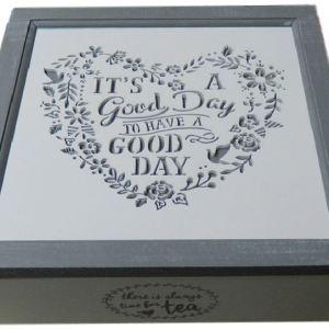 good day tea box