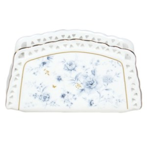 Australian Country Chic Fine China Kitchen BLUE MEADOWS Napkin Holder New
