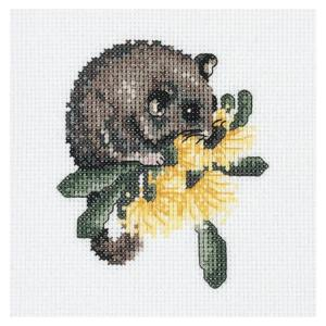 Cross Stitch Kit DMC AUSTRALIANA BABY POSSUM X Stitch Kit NEW AXRS.001