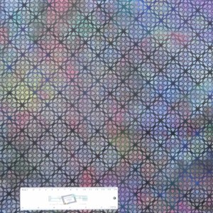 Patchwork Quilting Sewing Fabric DIAPHANOUS CELTIC PURPLES 50x55cm FQ New