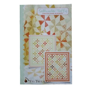 Quilting Sewing Patchwork Fig Tree & Co SALTWATER TAFFY Pattern Quilts New