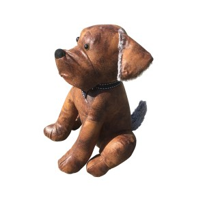 French Country Vintage Look Sitting Weighted LUCY LABRADOR DOG DOORSTOPPER New Door Stopper