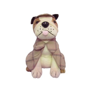 French Country Vintage Look Sitting Weighted SHERLOCK DOG DOORSTOPPER New Door Stopper
