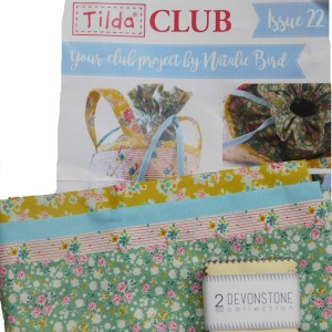 Tilda Club 12/18 Issue 22 Quilting Sewing Fabric Issue Craft Pattern Kit New
