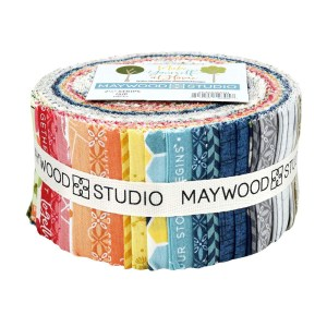 Quilting Jelly Roll MAYWOOD MAKE YOURSELF AT HOME 2.5 Inch Fabrics New