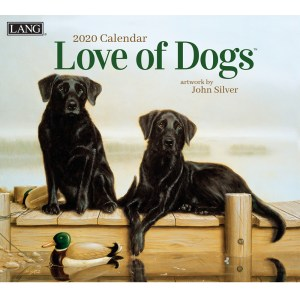 2020 Lang Calendar LOVE OF DOGS by John Silver New Calender Fits Wall Frame