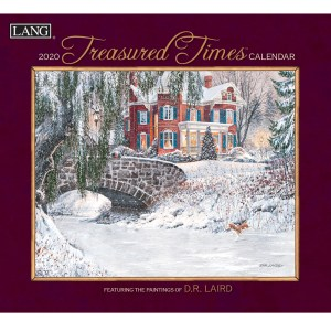 2020 Lang Calendar TREASURED TIMES by DR Laird New Calender Fits Wall Frame