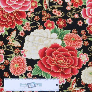 Quilting Patchwork Sewing Fabric JAPANESE IMPERIAL COLLECTION 50x55cm FQ New