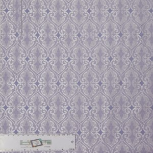 Quilting Patchwork Sewing Fabric TOTALLY TULIPS PURPLE SHIMMER 50x55cm FQ New