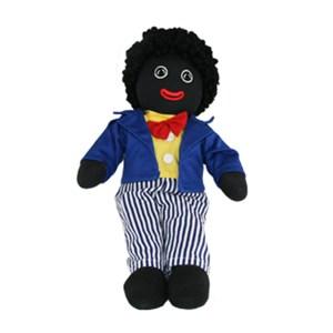 Lovely Soft Rag Doll ALFIE Blue Coat Boy Doll 35cm New